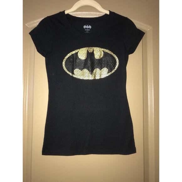 sequin batman t shirt
